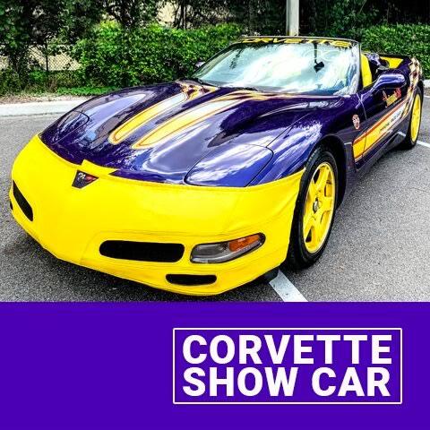 Corvette Show Car - DJ Vehicles
